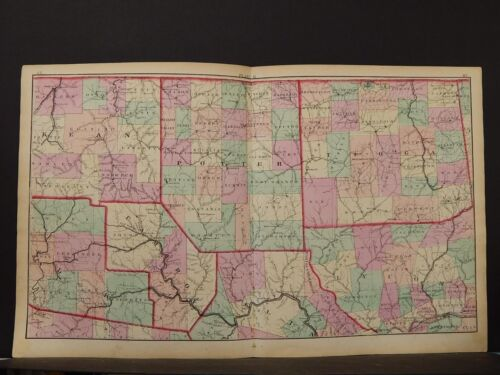 State of Pennsylvania Map, 1874, North Central Section, K1#56