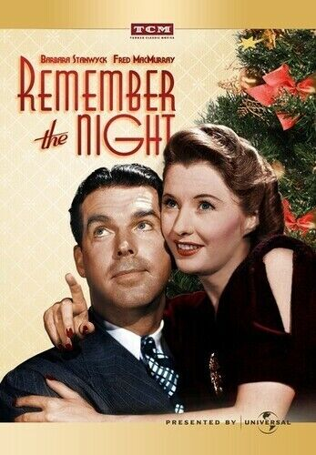 Remember the Night (2013, DVD NEW) DVD-R/BW