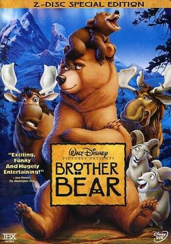 Brother Bear [Special Edition] [2 Discs] (2004, DVD NEW)
