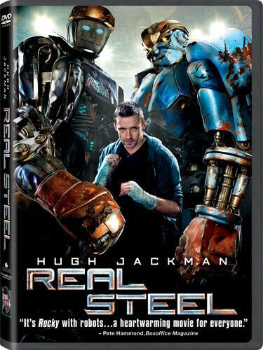 Real Steel (2012, DVD NEW)