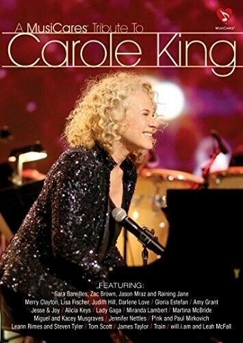 Musicares Tribute To Carole King (2015, DVD NEW)