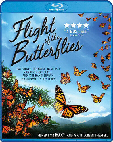 Imax: Flight Of The Butterflies (2016, Blu-ray NEW)