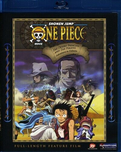 One Piece the Movie: The Desert Princess and the  (2009, Blu-ray NEW) BLU-RAY/WS