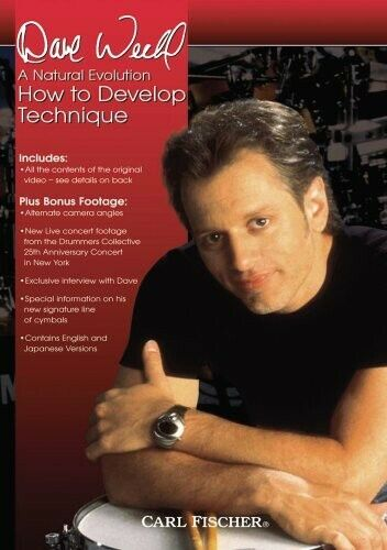 Dave Weckl: How to Develop Technique (2008, DVD NEW)