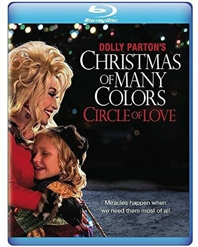 Dolly Parton's Christmas Of Many Colors: Circle Of (2016, Blu-ray NEW)