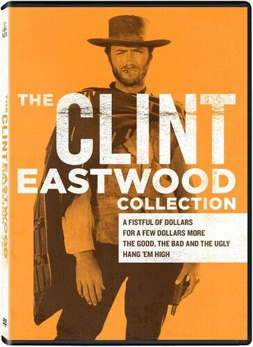 Clint Eastwood Collection - 4 DISC SET (2014, DVD NEW)