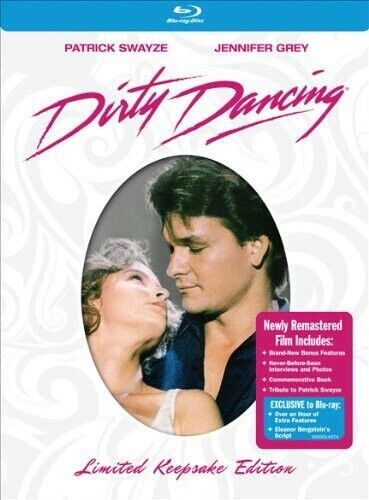 Dirty Dancing [Limited Keepsake Edition] [2 Discs] [With Boo (2010, Blu-ray NEW)