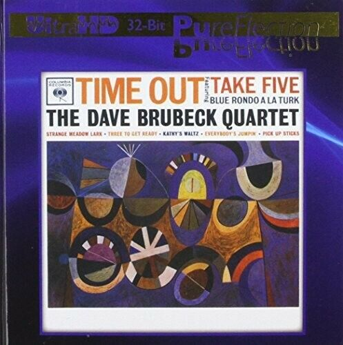 Time Out (Ultra-Hd/32bit Pureflection) - Dave Brubeck (2014, CD NIEUW)