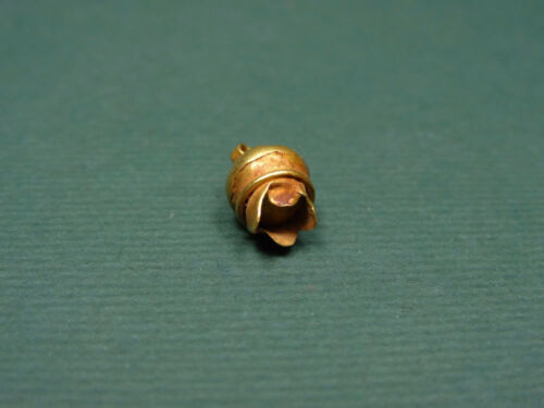 ANCIENT GOLD PENDANT POMEGRANATE SHAPE EGYPTIAN LATE PERIOD 716-30 BC