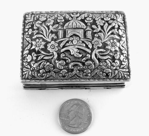 Antique Spanish Colonial Silver Box