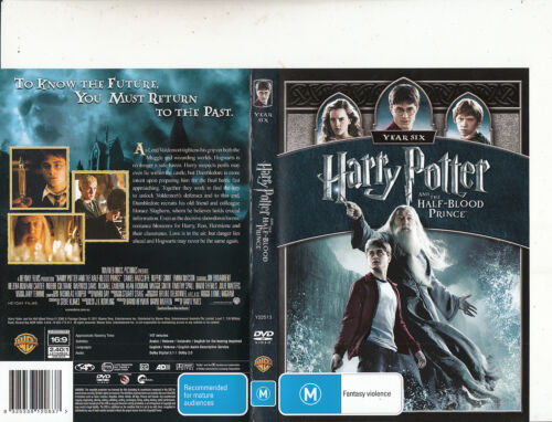 Harry Potter And The Half-Blood Prince-2009-Daniel Radcliffe-Movie-DVD