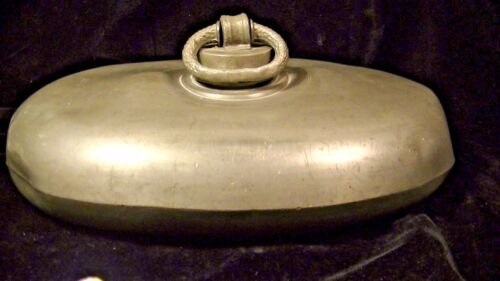 Antique Pewter Bed Warmer,  lot#198