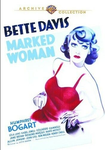 Marked Woman (1937) (2017, DVD NEW)