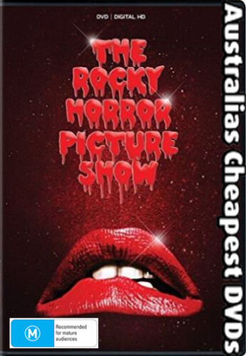 The Rocky Horror Picture Show DVD NEW, FREE POSTAGE WITHIN AUSTRALIA REGION ALL