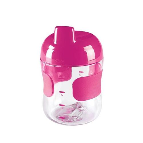 NEW Oxo Tot Baby Sippy Cup PINK Leak proof Sipper Cup - 200ml From Aus