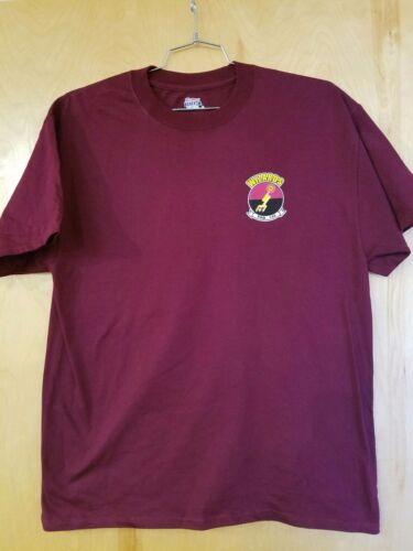 VAQ-133 WIZARDS COMMAND SQUADRON T-SHIRT IN THE SIZE MEDIUMOther Militaria - 135