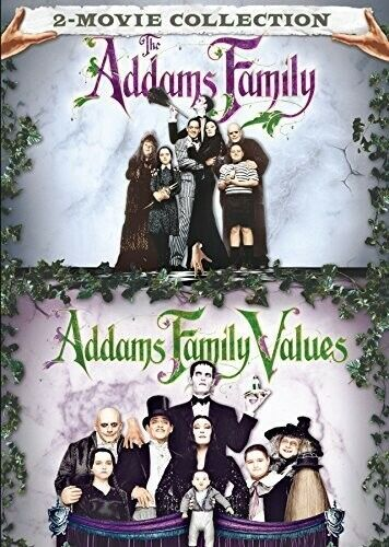 Addams Family / Addams Family Values - 2 DISC SET (2017, DVD NEW)