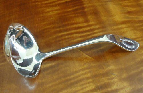 "SHREVE & Co Napoleonic Sterling Silver Gravy Ladle 6 3/4"" No Monogram"