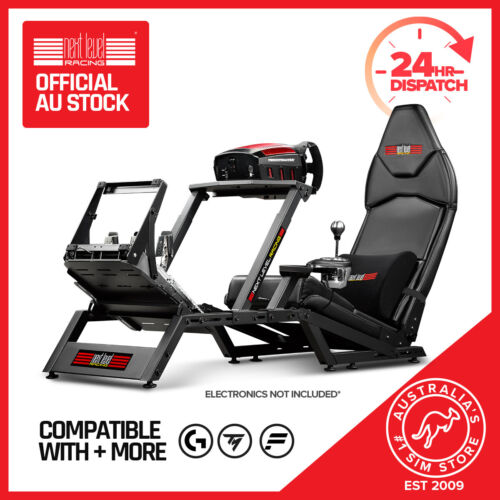 Next Level Racing F-GT Simulator Cockpit Gaming Chair PS4 Xbox F1 one