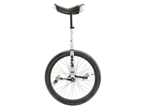 Unicycle 20 inch Expert Solo White By DRS