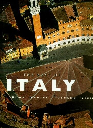 HUGE 6lb Best of Italy Rome Venice Tuscany Sicily Ancient Architecture Art Ruins