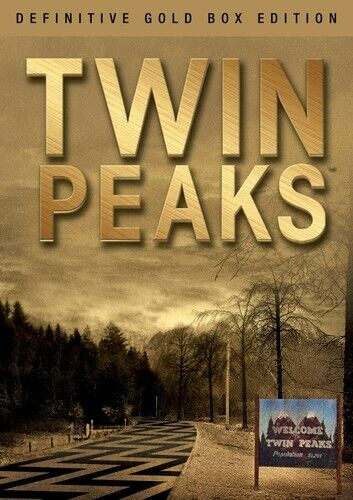 Twin Peaks: The Definitive (Gold Box Edition) - 10 DISC SET (2017, DVD NEW)