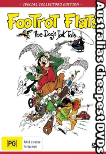 Footrot Flats DVD NEW, FREE POSTAGE WITHIN AUSTRALIA REGION 4