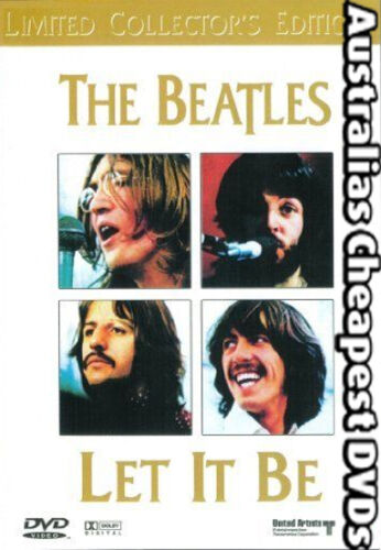 The Beatles - Let It Be  DVD NEW, FREE POSTAGE WITHIN AUSTRALIA REGION ALL