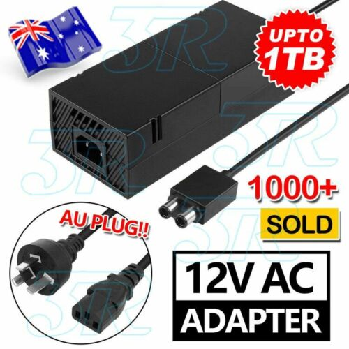 AC Adapter Charger Cable Mains Power Supply Brick for Microsoft XBOX ONE AU