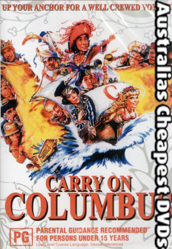 Carry On Columbus DVD NEW, FREE POSTAGE WITHIN AUSTRALIA REGION ALL