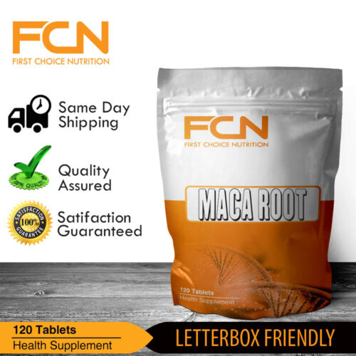 Maca Root Extract 5000mg x 120 Tablets / High Strength | Stamina | Energy | Mood <br/> TRIBULUS / LIONS MANE / ASHWAGANDHA / ZMA ALL IN STOCK