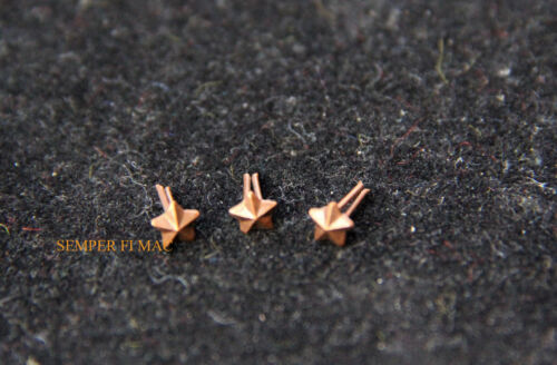 """3 ATTACHMENT BRONZE STAR 1/8"""" PIN UP MEDAL RIBBON US NAVY MARINES SUB AIRCREWOther Militaria (Date Unknown) - 66534"""