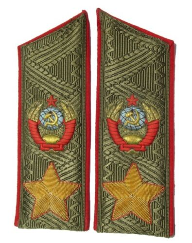 Marshal of the Soviet Union everyday shoulder boardsOriginal Period Items - 13983