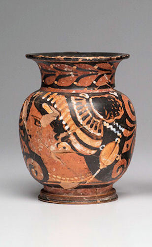 Ancient Apulian Pottery Red-Figure Oinochoe Ca. 350 B.C.Ex. Christies