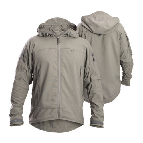FIRSTSPEAR Manatee Grey Wind Cheater XL X Large Hooded Jacket Soft Shell BreakerOther Current Field Gear - 36071