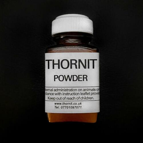 THORNIT MITE Powder 100 YEAR ORIGINAL PROVEN FORMULA for itchy sore EARS DOG CAT <br/> ** THIS IS THE GENUINE RECIPE SO BUY WITH CONFIDENCE **