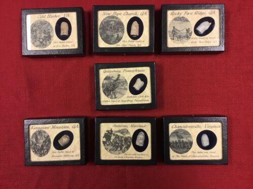Shot Civil War Bullet Collection *Great Buy* with COA Set 2 of 3 Bullets - 103996
