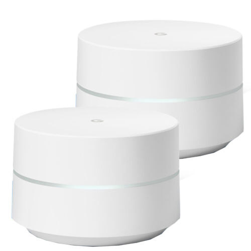 New Google Daul Band Single Pack Home Wi-Fi System Router - 2 Pack OEM