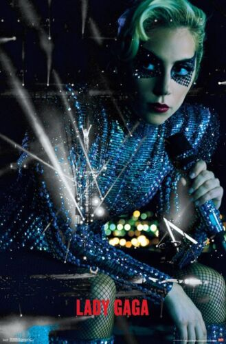 LADY GAGA - LIVE COLLAGE POSTER 22x34 - MUSIC 15844
