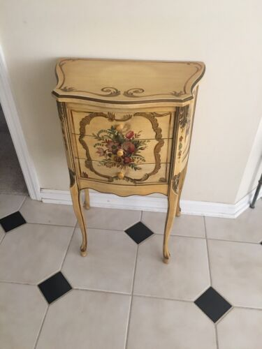 Italian Style Painted Side Table