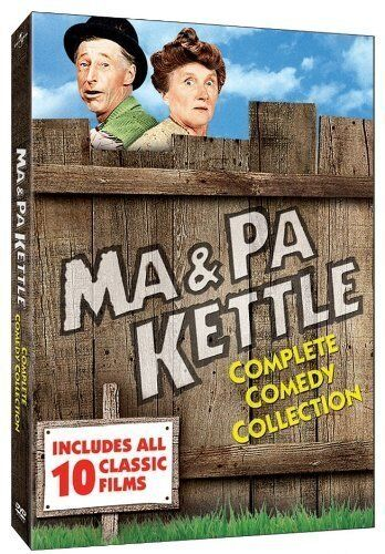 MA AND PA KETTLE COMPLETE COMEDY COLLECTION 10 FILMS DVD R1