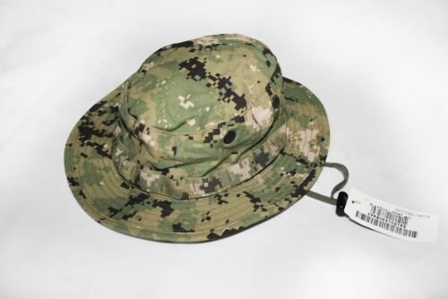 NEW NWU Type III Navy Seal AOR2 Boonie Hat SUN COVER MANY SIZESHats & Helmets - 36068