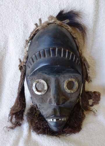 Antique Tribal Dan Mask, Ivory Coast/Cote de Ivorie