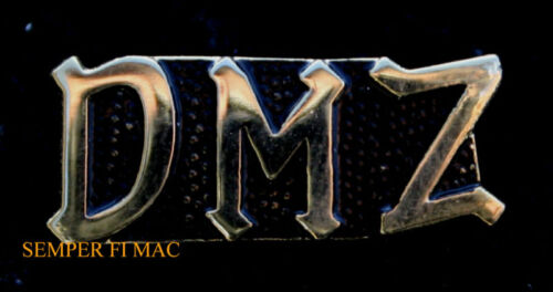 DMZ SCRIPT HAT LAPEL PIN UP US ARMY MARINES NAVY AIR FORCE VIETNAM WAR VETERANOther Militaria (Date Unknown) - 66534