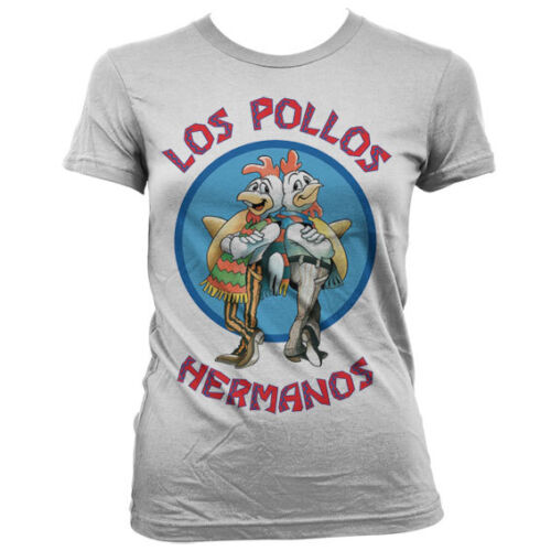 Officially Licensed Breaking Bad - Los Pollos Hermanos Women T-Shirt S-XXL Sizes