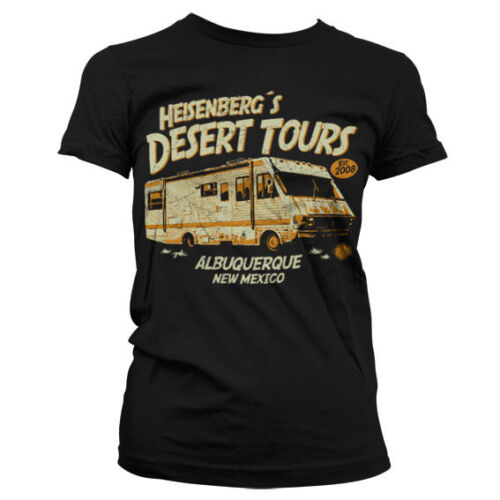 Officially Licensed Breaking Bad- Heisenberg´s Desert Tours Women T-Shirt S-XXL
