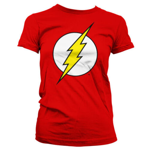 Officially Licensed The Flash - The Flash Emblem Women's T-Shirt S-XXL Sizes