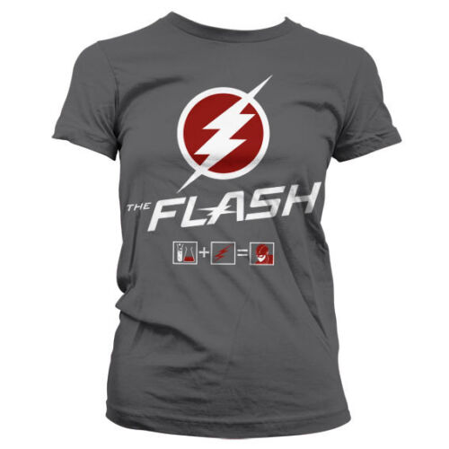 Officially Licensed The Flash- The Flash Riddle Women's T-Shirt S-XXL Sizes