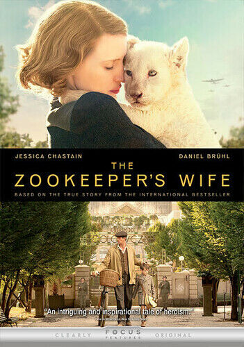 Zookeeper's Wife (2017, DVD NEW)