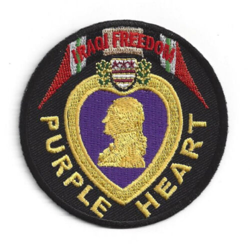 PURPLE HEART OIF IRAQ COMBAT WOUNDED HAT PATCH US ARMY MARINES NAVY AIR FORCEOther Militaria (Date Unknown) - 66534
